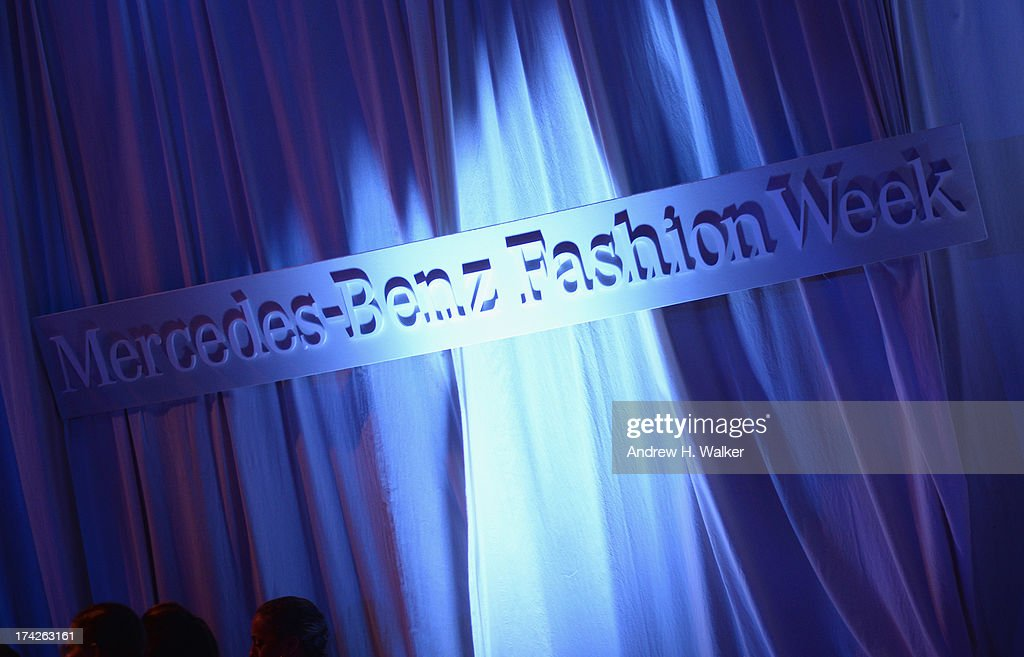 A general view of atmosphere during Mercedes-Benz Fashion Week Swim 2014 at the Raleigh on July 22, 2013 in Miami Beach, Florida.