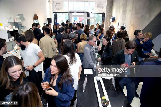 A general view of atmosphere during Not So General Presents 'Transmutation' an inaugural show and the debut of new Terrazzo Work by Carly Jo Morgan...
