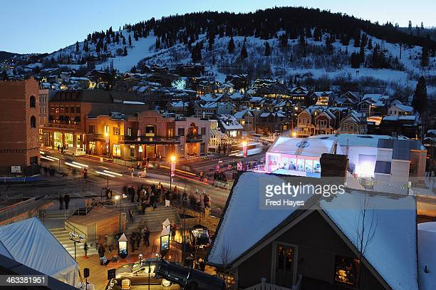 A general view of atmosphere during the 2014 Sundance Film Festival on January 17 2014 in Park City Utah