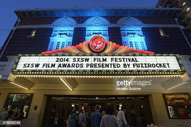 A general view of atmosphere during the 2014 SXSW Film Awards at the Paramount Theatre on March 11 2014 in Austin Texas