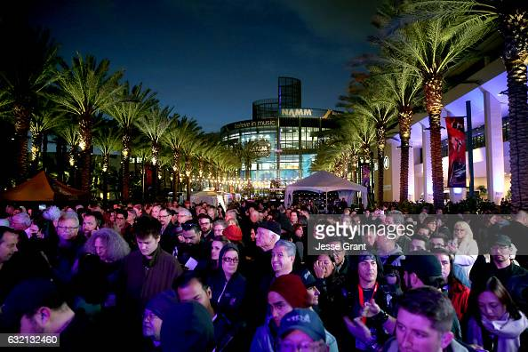 A general view of atmosphere during the 2017 NAMM Show Opening Day at Anaheim Convention Center on January 19 2017 in Anaheim California