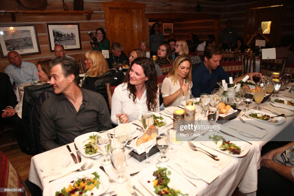 A general view of atmosphere during the 2017 Sun Valley Film Festival 'Pioneer Award Dinner' on March 18, 2017 in Sun Valley, Idaho.