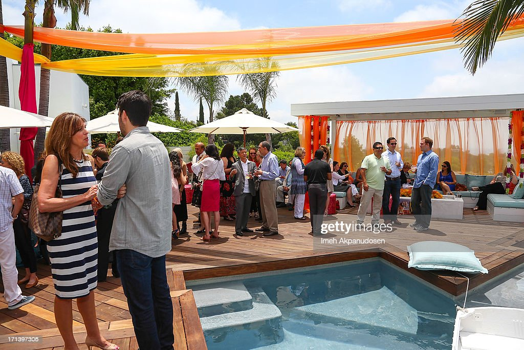 A general view of atmosphere during the 2nd annual Golden Portal Awards benefiting The UCLA Brain Tumor Program on June 23, 2013 in Beverly Hills, California.