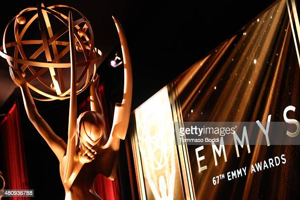 A general view of atmosphere during the 67th Primetime Emmy Awards Nominations at SilverScreen Theater at the Pacific Design Center on July 16 2015...