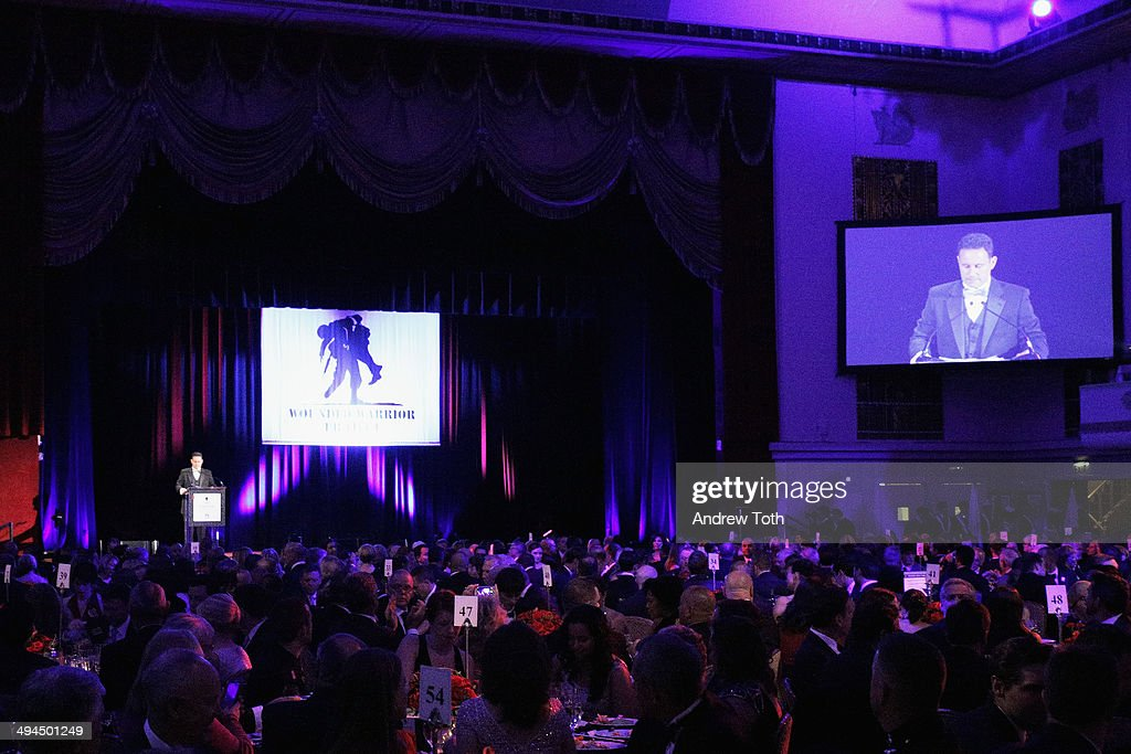 General view of atmosphere during the 9th annual Wounded Warrior Project Courage Awards & Benefit Dinner at The Waldorf=Astoria on May 29, 2014 in New York City.
