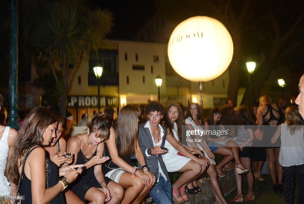 A general view of atmosphere during the ASAP Rocky Party at the VIP Room on August 21, 2013 in Saint Tropez, France.