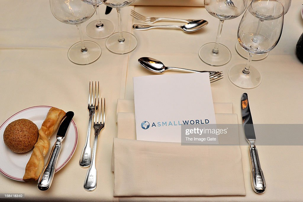 A general view of atmosphere during the ASMALLWORLD Champagne Diamond Apero at the Gstaad Palace Hotel on December 14, 2012 in Gstaad, Switzerland.