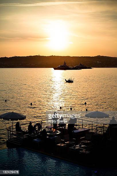 A general view of atmosphere during the Chanel 'Collection Croisiere 2012' after party at the Hotel du Cap on May 9 2011 in Cap d'Antibes France