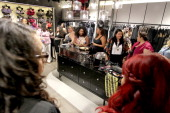 A general view of atmosphere during the City Chic Exclusive Preview First US Store Culver City at Westfield Culver City Shopping Mall on July 31 2014...