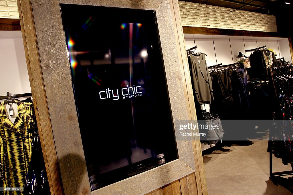 A general view of atmosphere during the City Chic Exclusive Preview: First U.S Store Culver City at Westfield Culver City Shopping Mall on July 31, 2014 in Culver City, California.