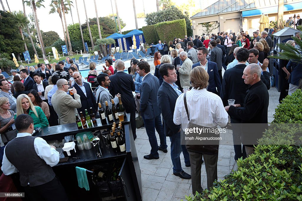 A general view of atmosphere during the coctail reception at the Variety Entertainment and Technology Summit at Ritz Carlton Hotel on October 21, 2013 in Marina del Rey, California.