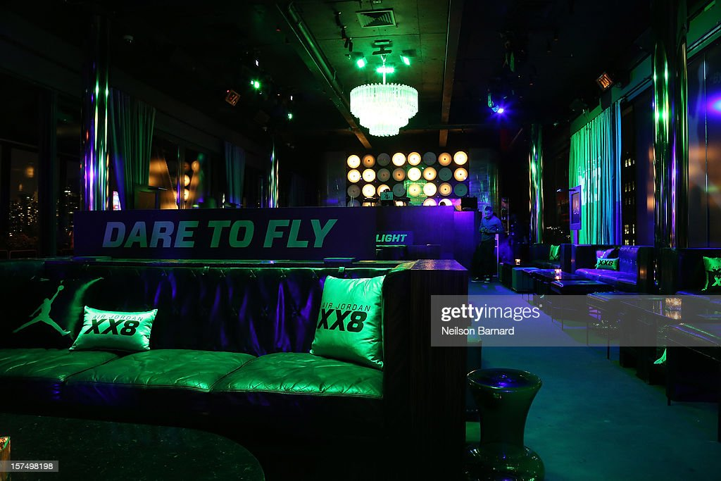 A general view of atmosphere during the Dare To Fly AJXX8 event at PH-D Rooftop Lounge at Dream Downtown on December 3, 2012 in New York City.