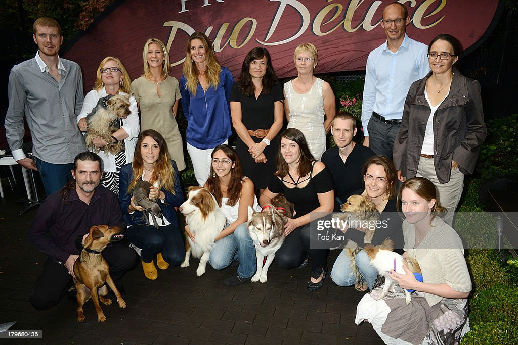 A general view of atmosphere during the Duo Delice Dog Food Launch Party at 6 Mandel on September 6, 2013 in Paris, France.