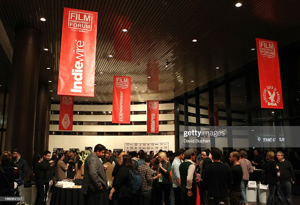 A general view of atmosphere during the Film Independent forum at the DGA Theater on October 27, 2013 in Los Angeles, California.