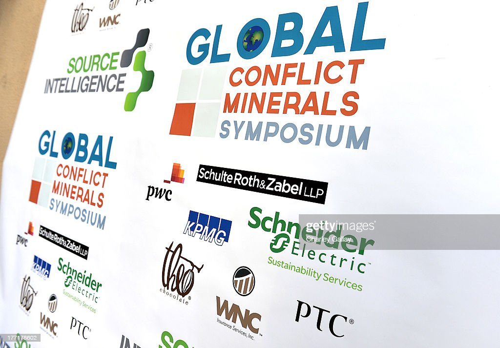 A general view of atmosphere during the Global Conflict Minerals Symposium Dinner Presented by Source Intelligence at Omni Los Angeles Hotel on August 21, 2013 in Los Angeles, California.