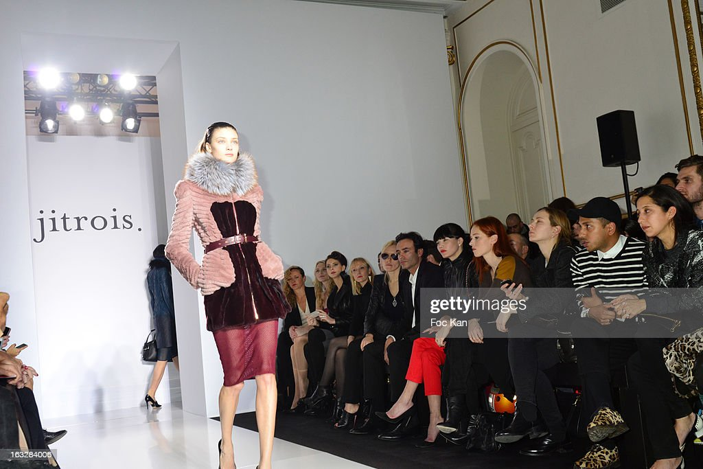 A general view of atmosphere during the Jitrois - Front Row - PFW F/W 2013 at Hotel Saint James & Albany on March 6, 2013 in Paris, France.