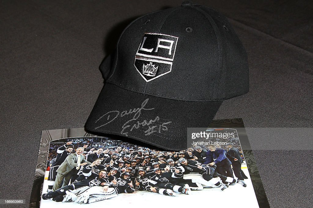 A general view of atmosphere during the LA Kings Chalk Talk & Game Experience at Staples Center on April 18, 2013 in Los Angeles, California.
