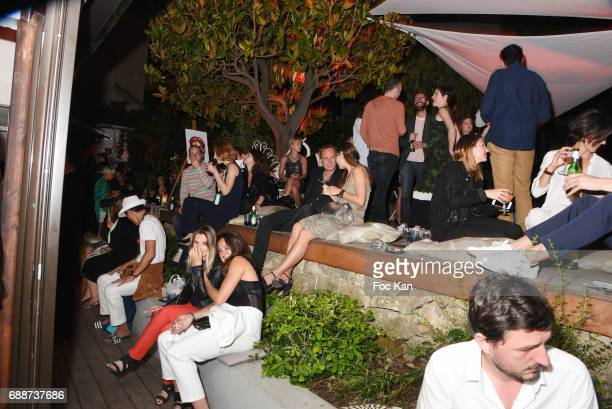 A general view of atmosphere during the L'Ame Party at 52 Rue D'Antibes during the 70th annual Cannes Film Festival at on May 25 2017 in Cannes France