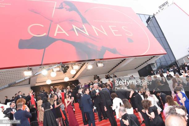 A general view of atmosphere during the 'Loveless ' screening during the 70th annual Cannes Film Festival at Palais des Festivals on May 18 2017 in...