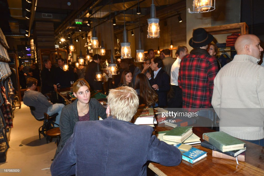A general view of atmosphere during the MCS 'We The People' launch party at MCS Champs Elysees on November 27, 2012 in Paris, France.