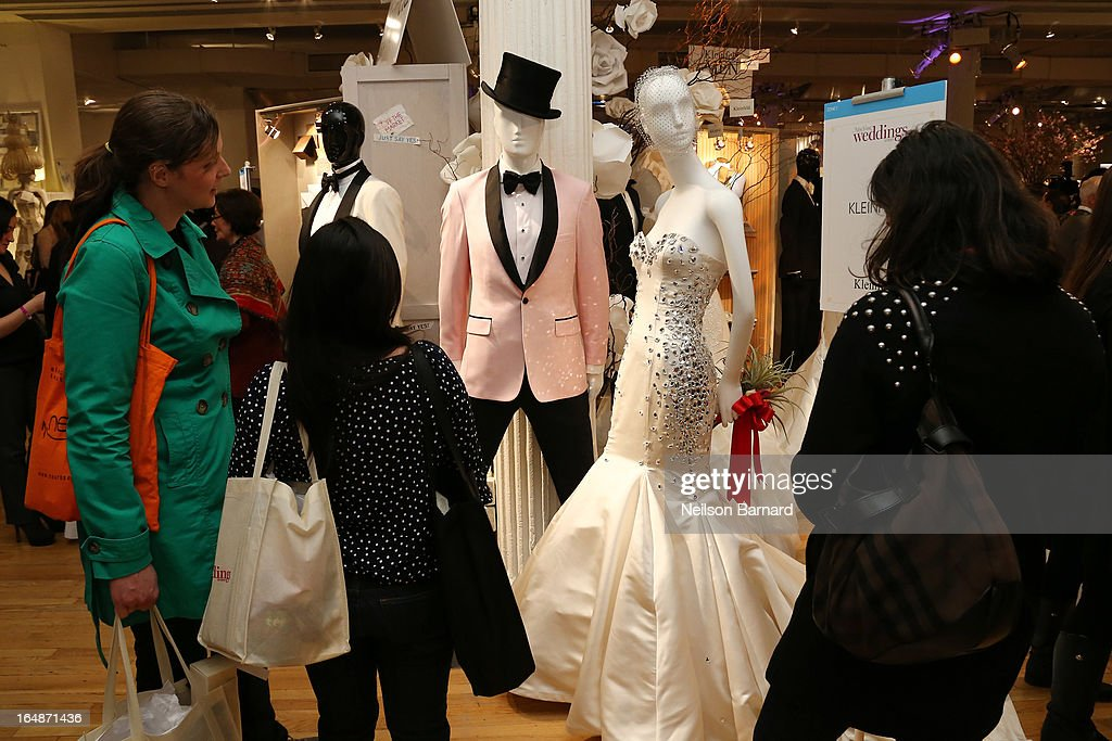A general view of atmosphere during the New York Magazine Weddings event at Metropolitan Pavilion on March 28, 2013 in New York City.