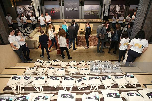 A general view of atmosphere during The New York Times's NYTVR exclusive look event on November 5 2015 in New York City