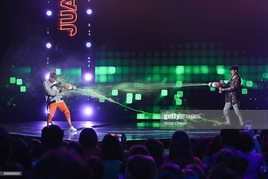 A general view of atmosphere during the Nickelodeon Kids' Choice Awards Mexico 2017 at Auditorio Nacional on August 19, 2017 in Mexico City, Mexico.