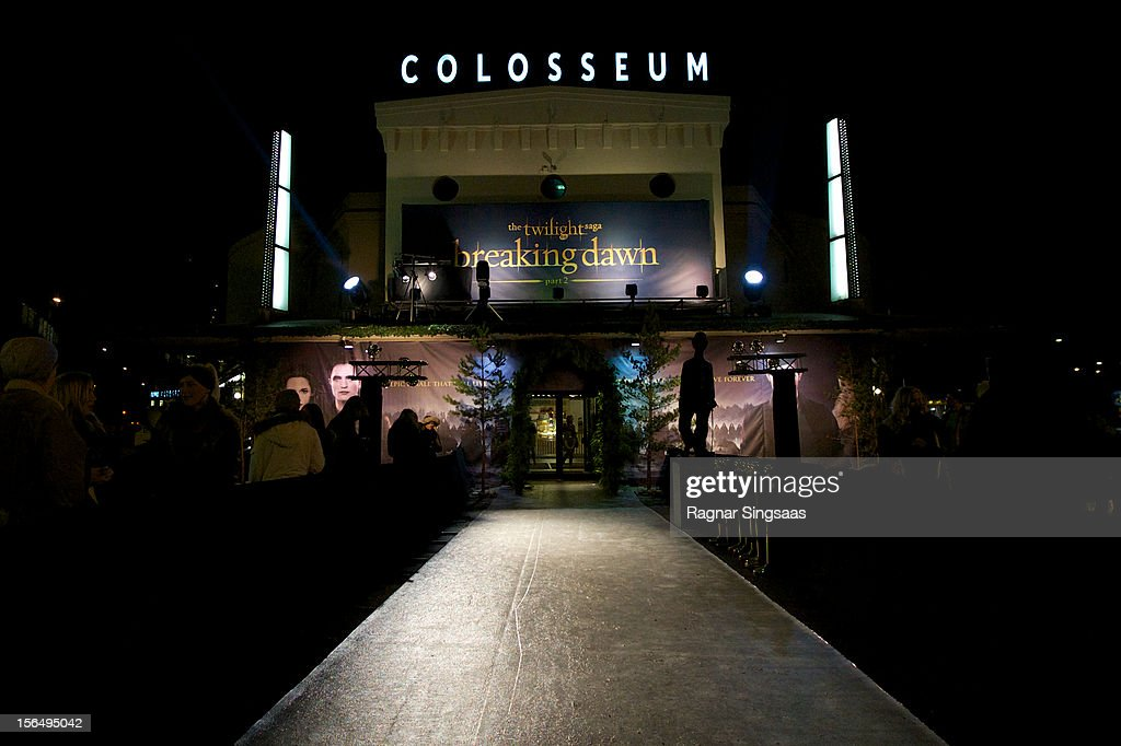 . A general view of atmosphere during the Norway Premiere of The Twilight Saga: Breaking Dawn Part 2 at Colosseum on November 15, 2012 in Oslo, Norway.