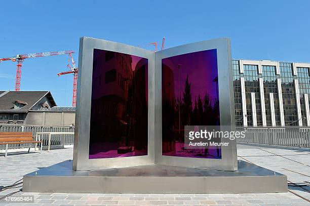A general view of atmosphere during the 'Open Book' Press Preview at Parc Martin Luther King on June 13 2015 in Paris France