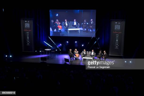 A general view of atmosphere during the Paris Luxury Summit 2017 at Theatre Des Sablons on December 12 2017 in NeuillysurSeine France