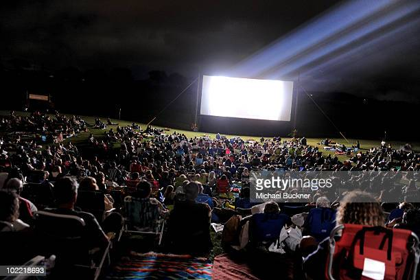 A general view of atmosphere during the premiere screening of 'The Happiest Man Alive' during the 2010 Maui Film Festival at the Celestial Cinema on...