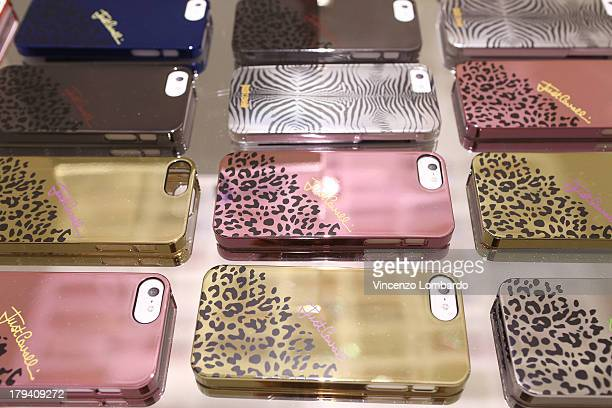 A general view of atmosphere during the Puro and Just Cavalli event to unveil the new smartphone covers collection on September 3 2013 in MilanItaly