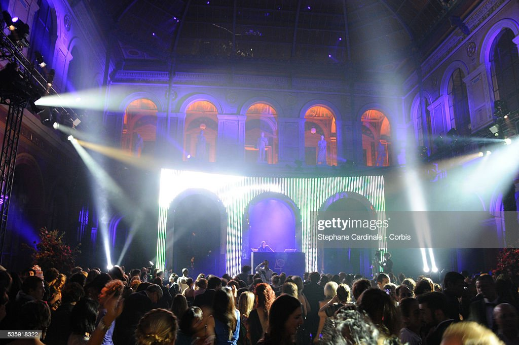 A general view of atmosphere during the Roberto Cavalli Celebrate 40 Party at 'Les Beaux-Arts' in Paris.