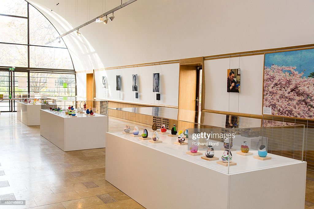 A general view of atmosphere during the 'Solidarite Fukushima' exhibition in tribute to the victims of Fukushima on December 5, 2013 in Paris, France.