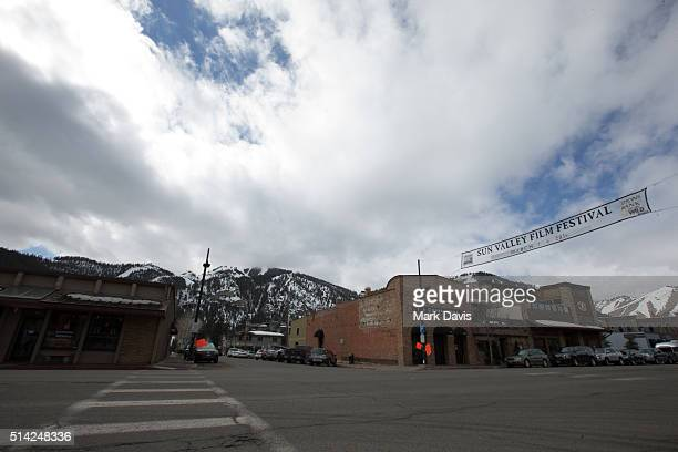 A general view of atmosphere during the Sun Valley Film Festival on March 5 2016 in Sun Valley Idaho