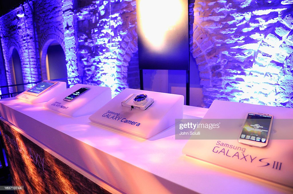 A general view of atmosphere during The Universal Music Group cocktail party hosted by Samsung Galaxy Club at SXSW on March 14, 2013 in Austin, Texas.