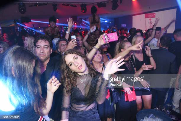 A general view of atmosphere during the VIP Room Cannes Akon and Bob Sinclar Concert Party during the 70th annual Cannes Film Festival at on May 25...