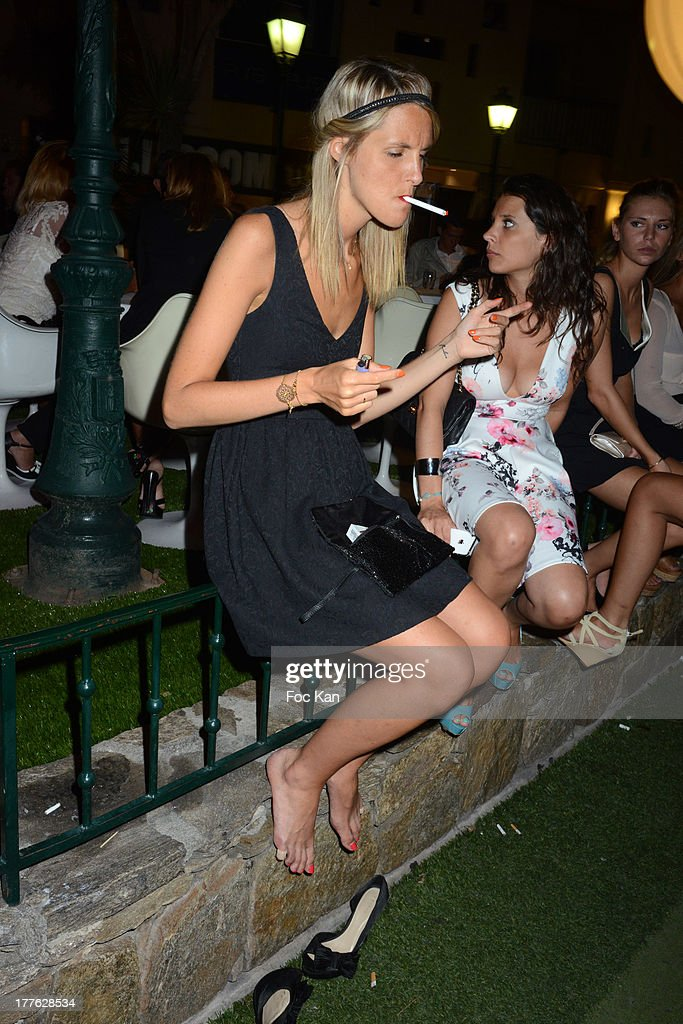 A general view of atmosphere during the VIP Room on August 24, 2013 in Saint Tropez, France.