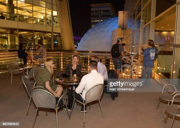 A general view of atmosphere during VICE Impact's 'The Third Industrial Revolution' Los Angeles premiere presented by Ford Motor Company at ArcLight...