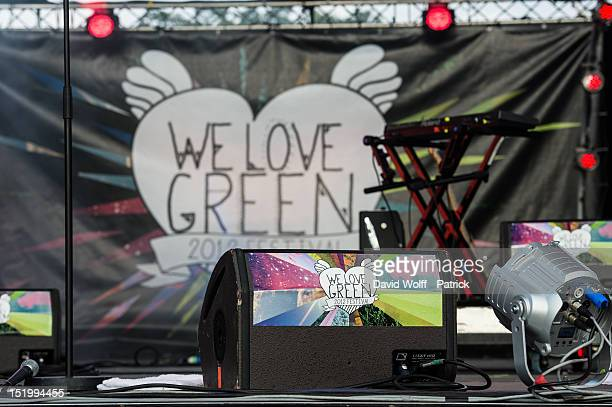 General view of atmosphere during We Love Green Festival at Parc de Bagatelle on September 14 2012 in Paris France