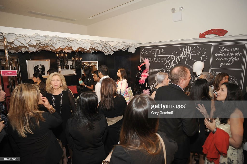 A general view of atmosphere inside Housing Works 9th Annual Design On A Dime Benefit at Metropolitan Pavilion on April 25, 2013 in New York City.