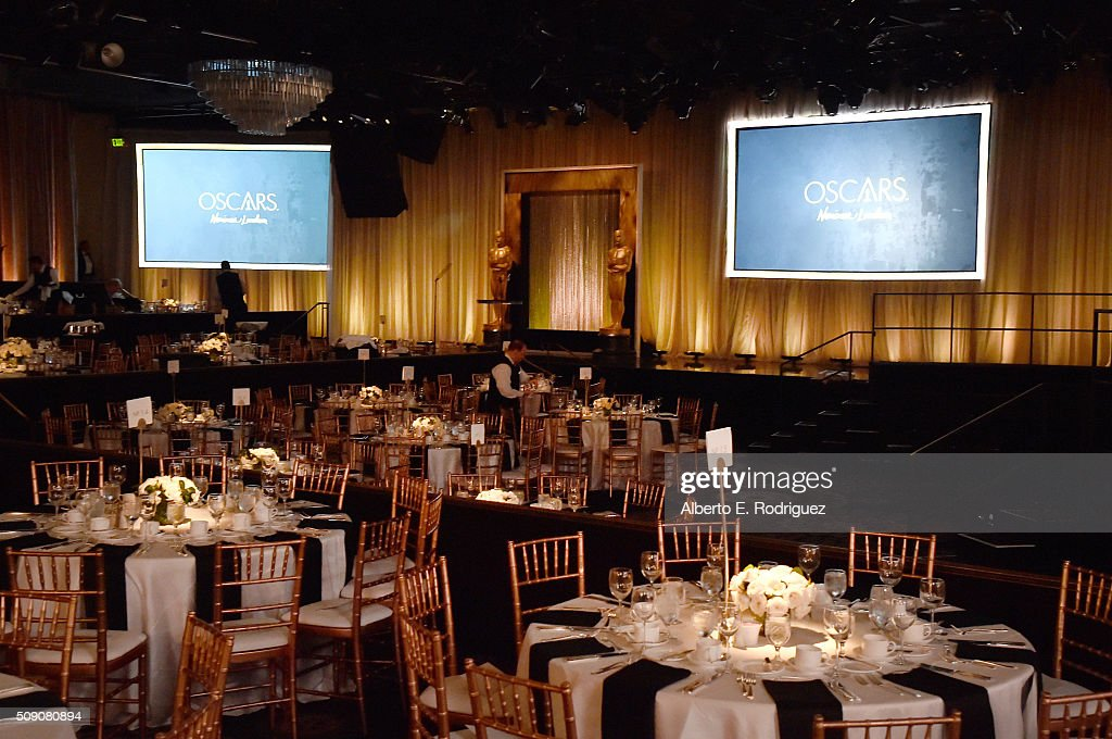 General view of atmosphere inside the 88th Annual Academy Awards nominee luncheon on February 8, 2016 in Beverly Hills, California.