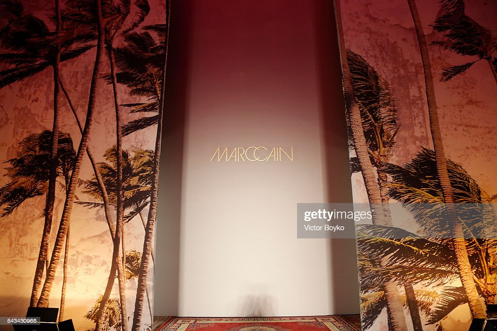 A general view of atmosphere is seen at the Marc Cain fashion show spring/summer 2017 at CITY CUBE Panorama Bar on June 28, 2016 in Berlin, Germany.
