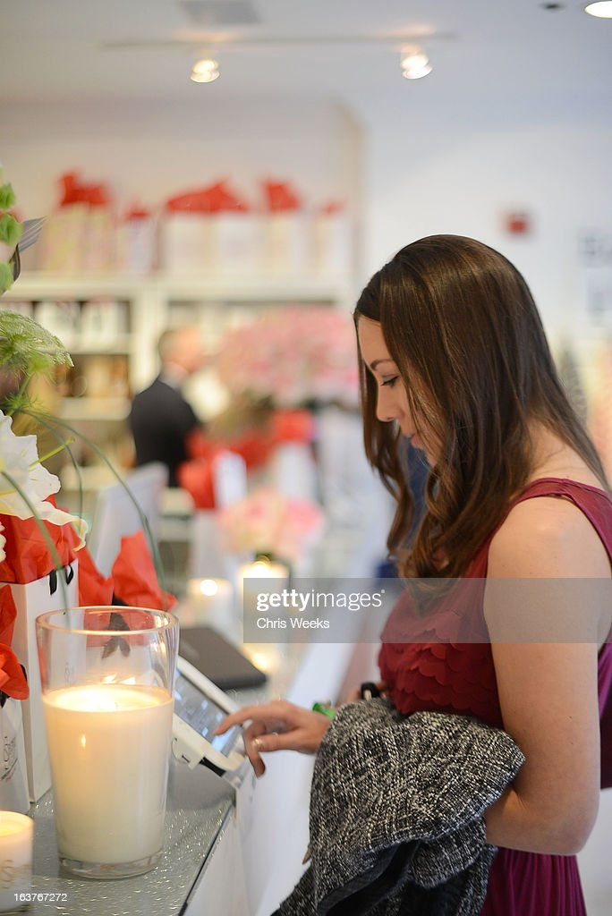 A general view of atmosphere is seen at the Original Scent launch at Nikki West Boutique on March 14, 2013 in Pasadena, California.
