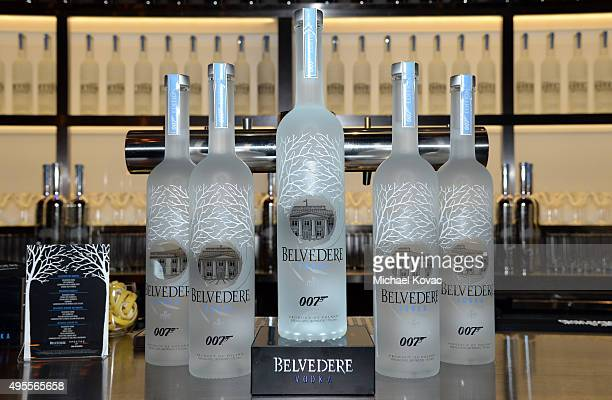 A general view of atmosphere is seen during an exclusive screening of 'SPECTRE' hosted by Belvedere Vodka and Stephanie Sigman at ArcLight Cinemas...