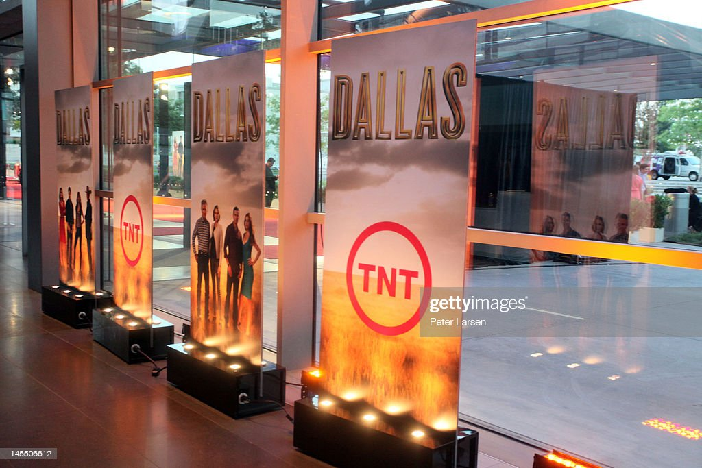 A general view of atmosphere is seen during the gala premiere screening of 'Dallas' hosted by TNT and Warner Horizon at the Winspear Opera House on...