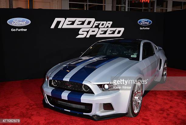 A general view of atmosphere is seen during the premiere of DreamWorks Pictures' 'Need For Speed' at TCL Chinese Theatre on March 6 2014 in Hollywood...