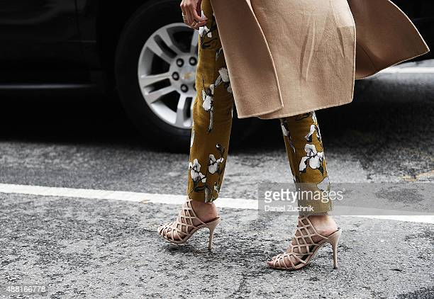 A general view of atmosphere is seen outside the DVF show during New York Fashion Week 2016 on September 13 2015 in New York City
