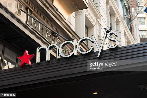General view of atmosphere outside of Macys Herald Square on September 16 2015 in New York City