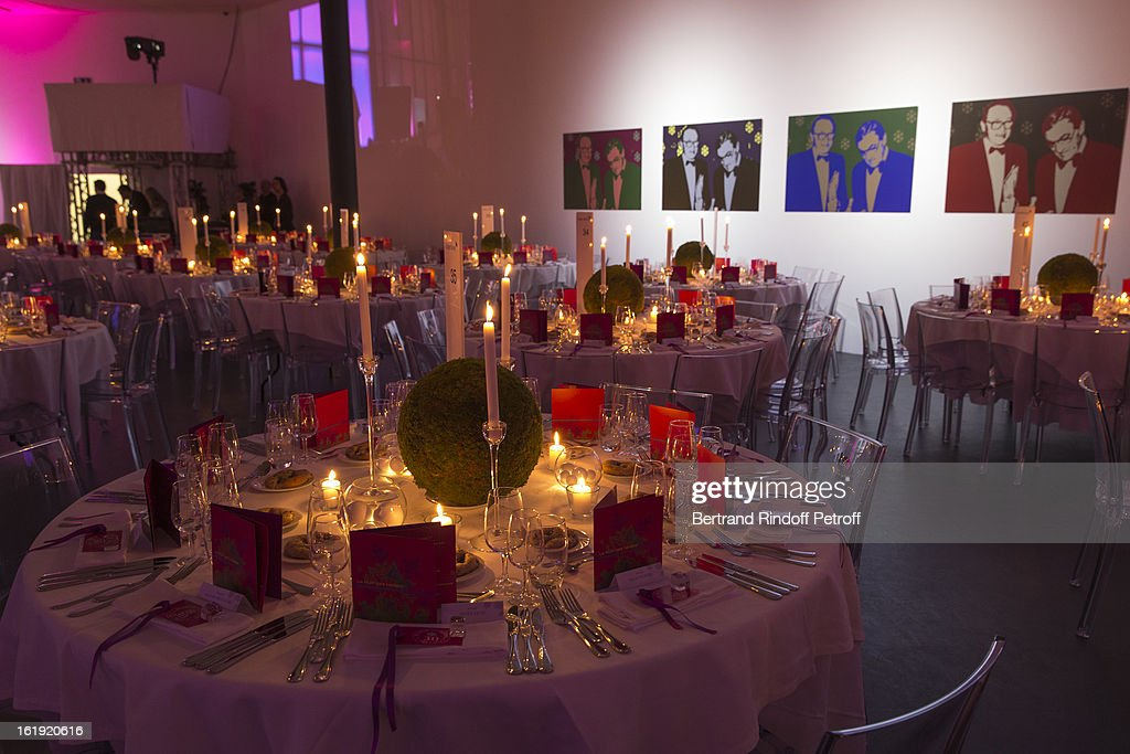 A general view of atmosphere prior to the 30th edition of 'La Nuit Des Neiges' Charity Gala on February 16, 2013 in Crans-Montana, Switzerland.